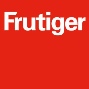 Logo Frutiger AG