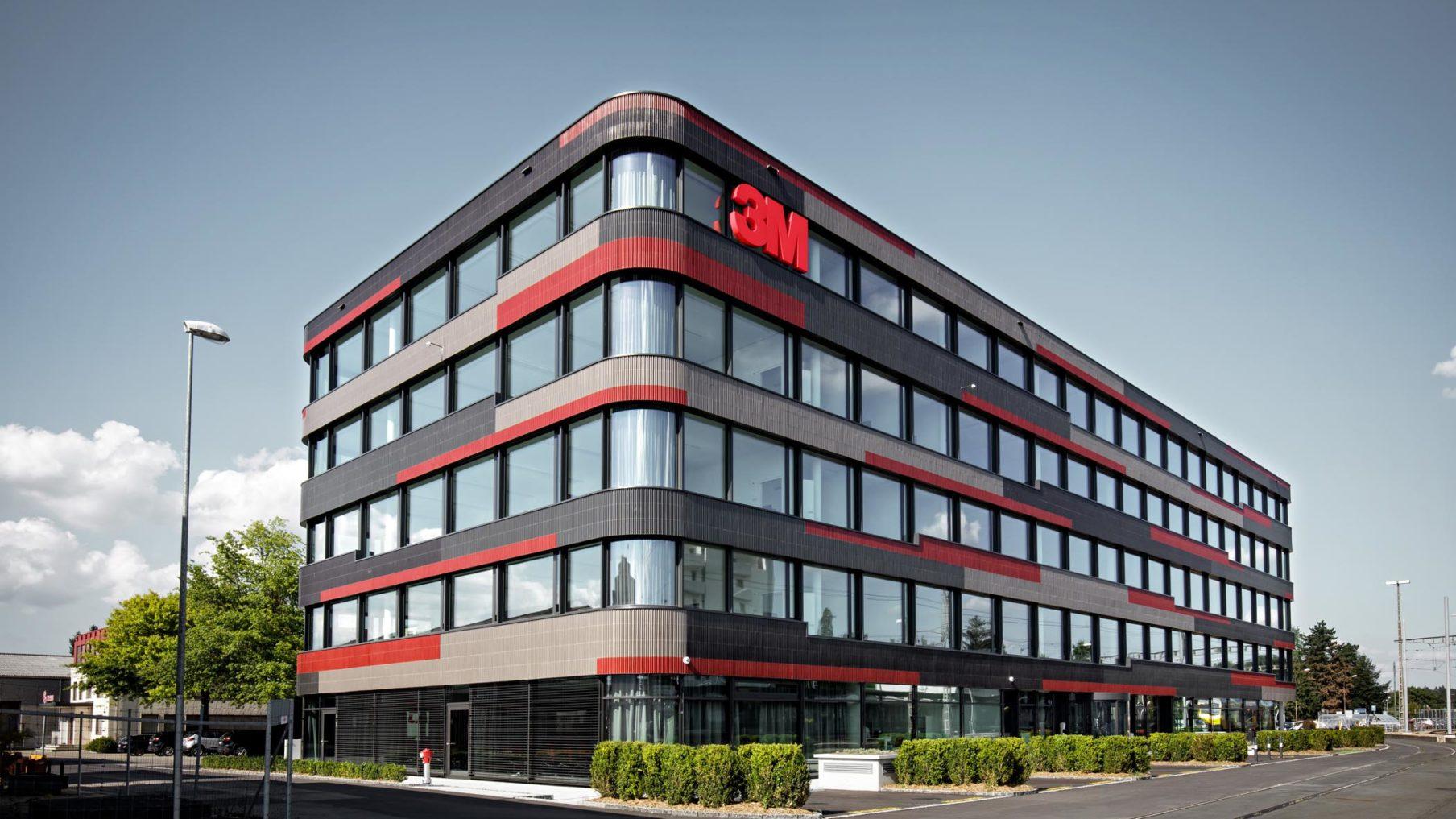 Hauptsitz 3M Langenthal (Fertigstellung 2017)