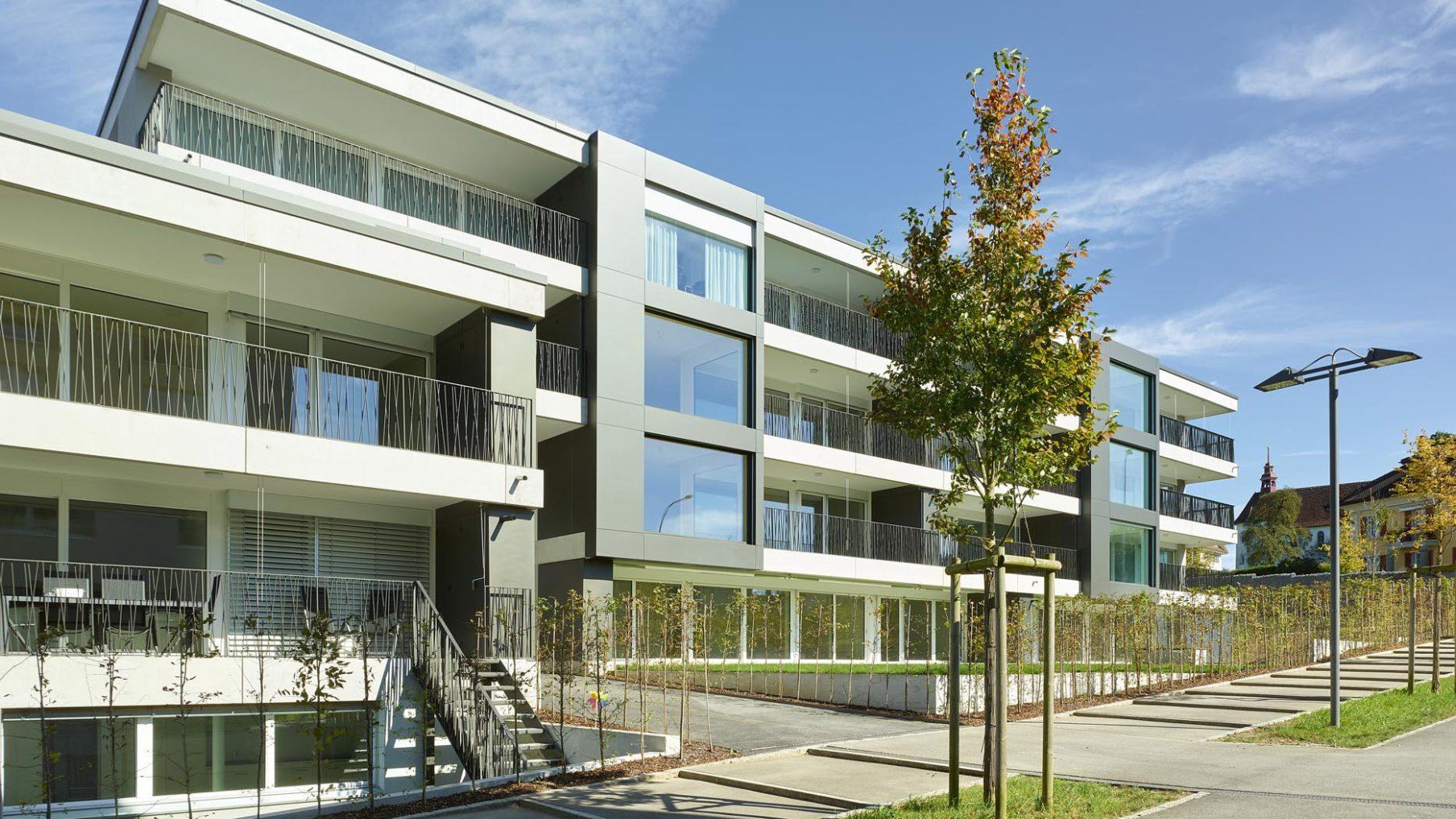 Wohnüberbauung Hoftstettlerfeld 9 Sursee (Fertigstellung 2018)