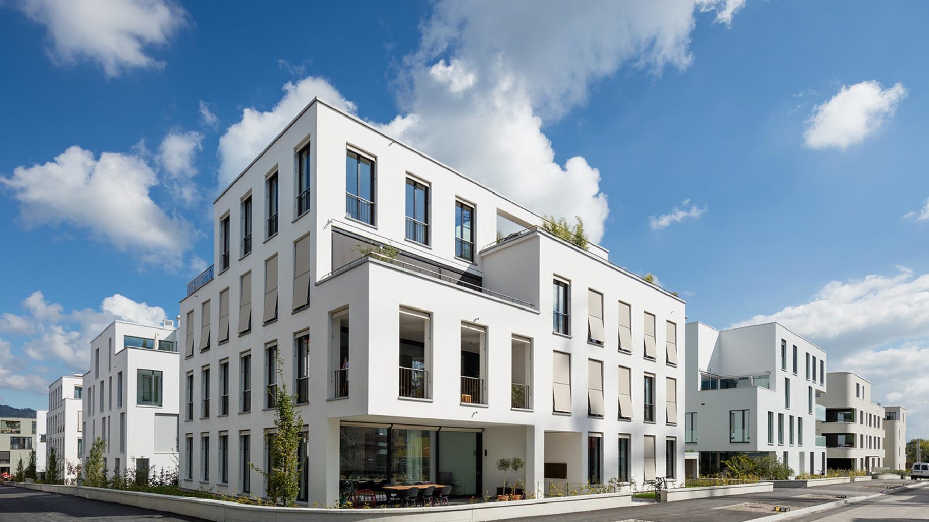 Wohnüberbauung bim klee Bern (Fertigstellung 2014)