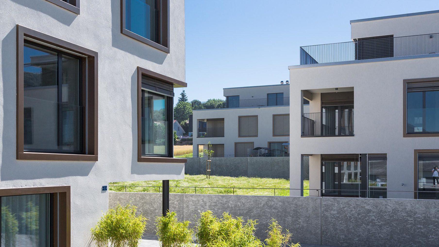 Wohnüberbauung Büntenacker Starrkirch-Wil (Fertigstellung 2015)
