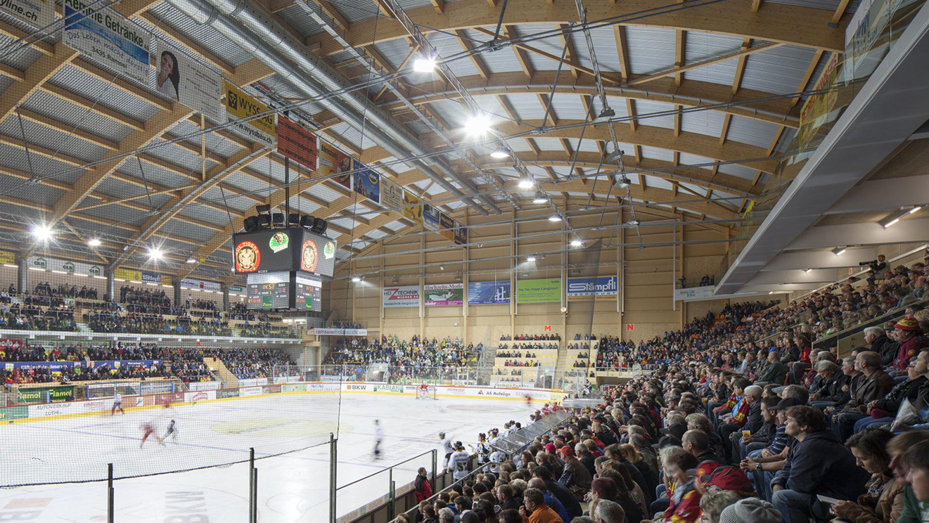 Eissportstadion Ilfishalle (Fertigstellung 2012)
