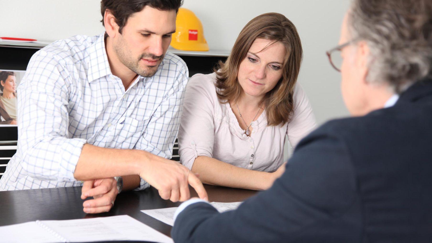 Startsitzung für ein neues Immobilienprojekt mit der Frutiger AG