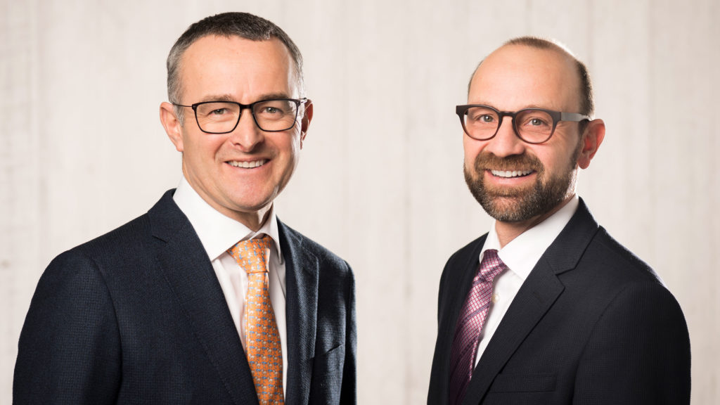 Luc und Thomas Frutiger