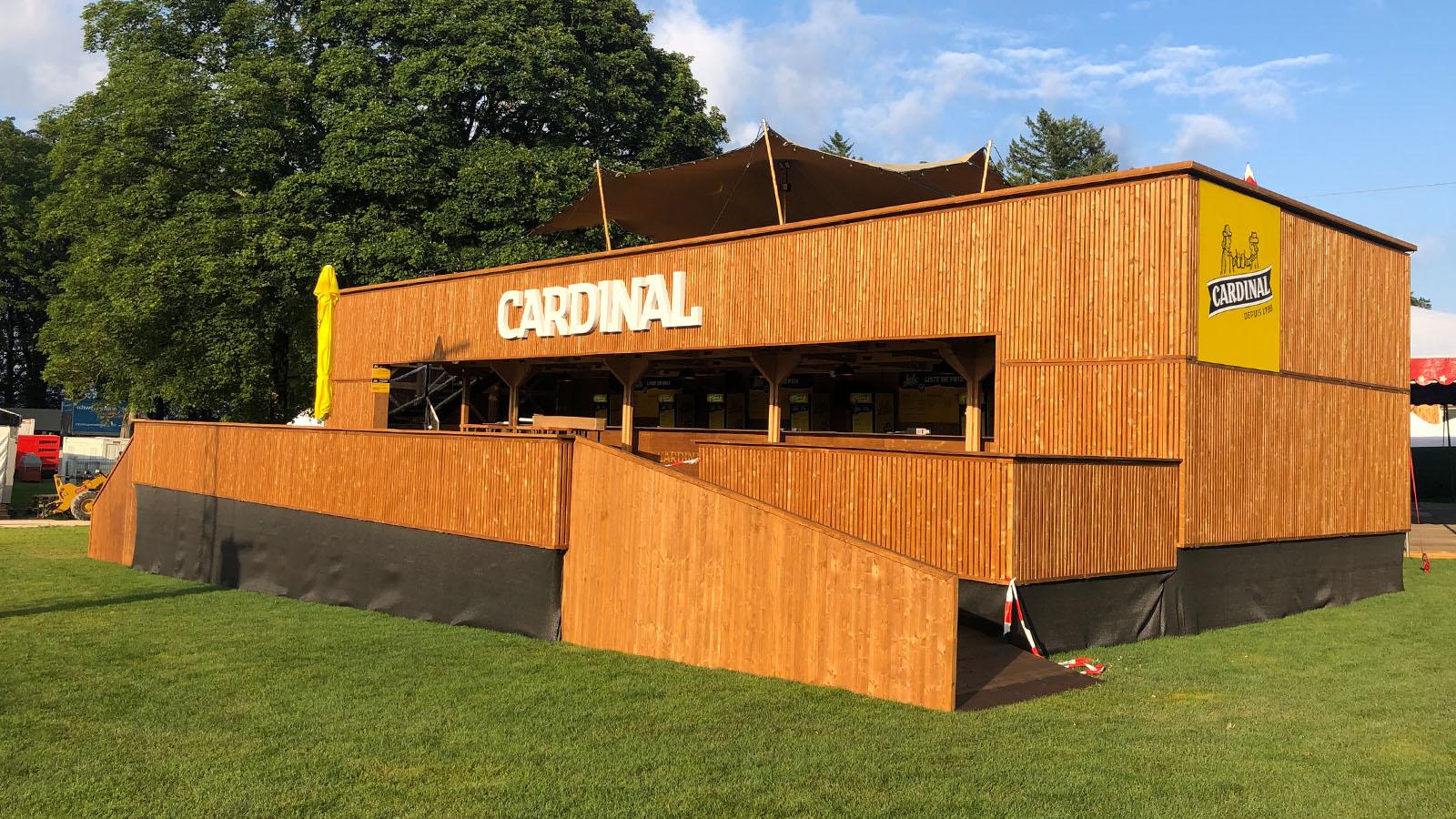 Eventbau Gurten Festival Cardinal